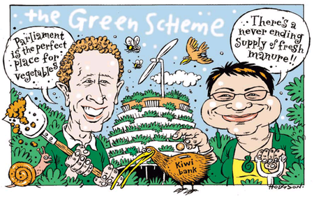Greens highly unlikely national party NZ Politics Daily Bryce Edwards University of Otago liberation blog www.liberation.org.nz