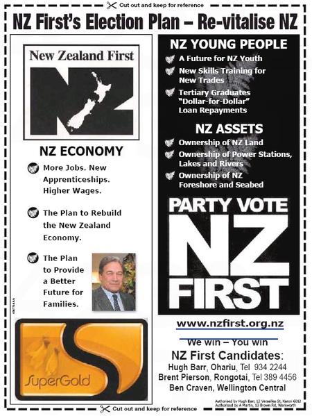 NZ First Winston Peters NZ Politics Daily Bryce Edwards University of Otago liberation blog www.liberation.org.nz