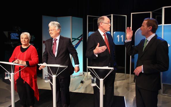 Multiparty leaders debate minor parties NZ Politics Daily - Bryce Edwards Otago University liberation blog - www.liberation.org.nz