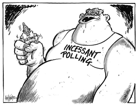 Opinion polls NZ Politics Daily - Bryce Edwards Otago University liberation blog - www.liberation.org.nz