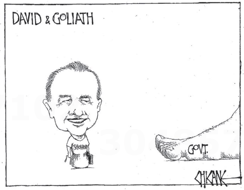 David goliath labour NZ Politics Daily - Bryce Edwards Otago University liberation blog - www.liberation.org.nz