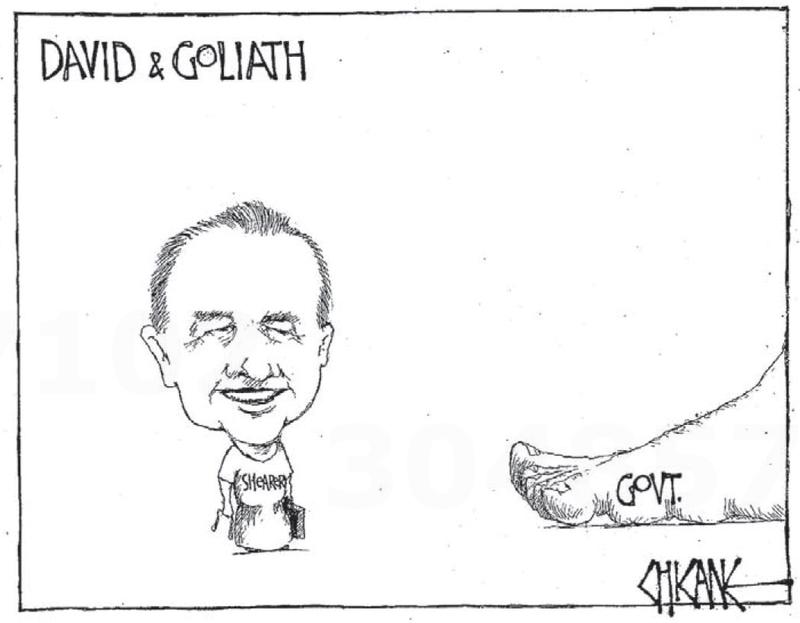 David goliath labour NZ Politics Daily - Bryce Edwards Otago University liberation blog - www.liberation.org.nz