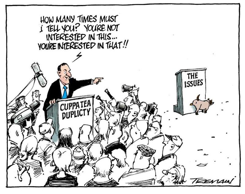 1 teapot tapes john key NZ Politics Daily - Bryce Edwards Otago University liberation blog - www.liberation.org.nz