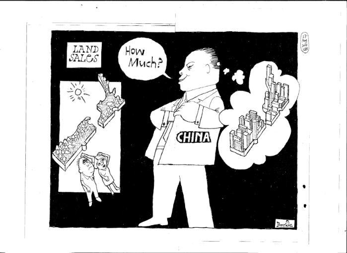 Z xenophobia china NZ Politics Daily - Bryce Edwards Otago University liberation blog - www.liberation.org.nz