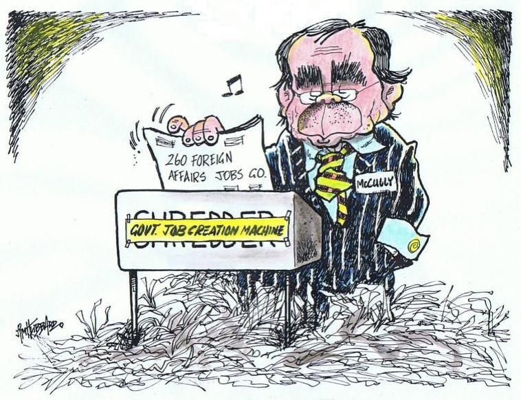 Mfat foreign affairs cuts mccully NZ Politics Daily - Bryce Edwards Otago University liberation blog - www.liberation.org.nz