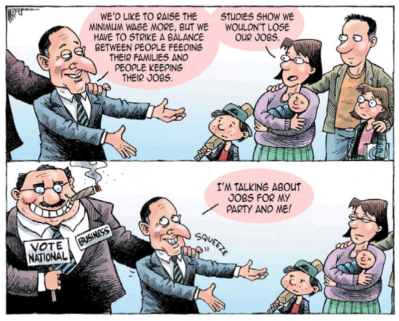 1 economy jobs unemployment NZ Politics Daily - Bryce Edwards Otago University liberation blog - www.liberation.org.nz