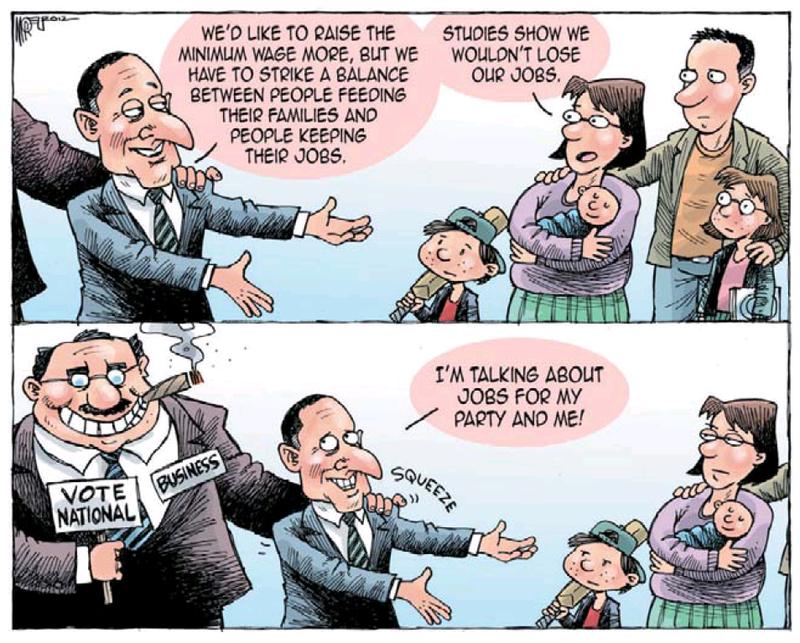 1 economy jobs unemployment NZ Politics Daily - Bryce Edwards Otago University liberation blog - www.liberation.org.nz