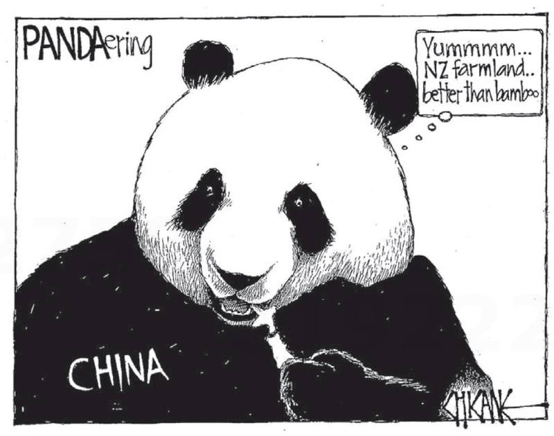 Pandering to china farm sales NZ Politics Daily - Bryce Edwards Otago University liberation blog - www.liberation.org.nz