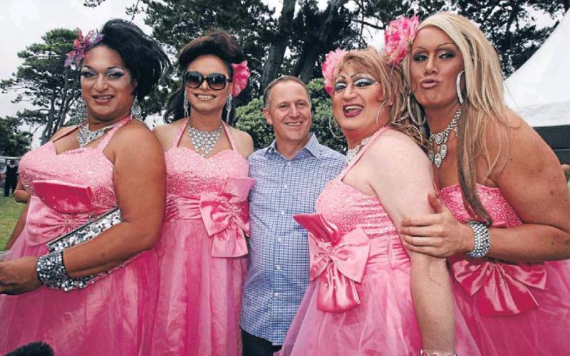 1 big gay out john key national NZ Politics Daily - Bryce Edwards Otago University liberation blog - www.liberation.org.nz