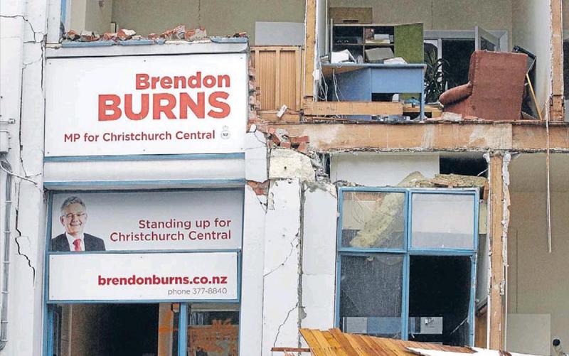 1 christchurch earthquake brendon burns NZ Politics Daily - Bryce Edwards Otago University liberation blog - www.liberation.org.nz
