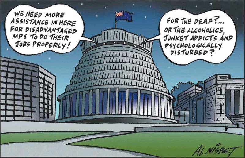 8 beehive NZ Politics Daily - Bryce Edwards Otago University liberation blog - www.liberation.org.nz