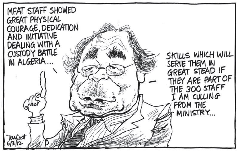 Mfat mccully NZ Politics Daily - Bryce Edwards Otago University liberation blog - www.liberation.org.nz