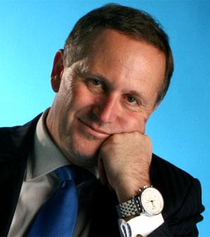 1 John Key portrait NZ Politics Daily - Bryce Edwards Otago University liberation blog - www.liberation.org.nz