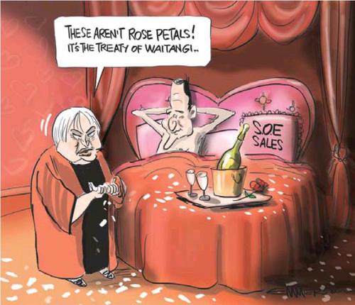 2 soe treaty maori party NZ Politics Daily - Bryce Edwards Otago University liberation blog - www.liberation.org.nz