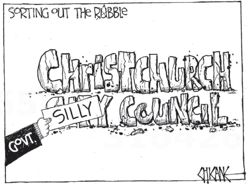 2 christchurch silly council NZ Politics Daily - Bryce Edwards Otago University liberation blog - www.liberation.org.nz