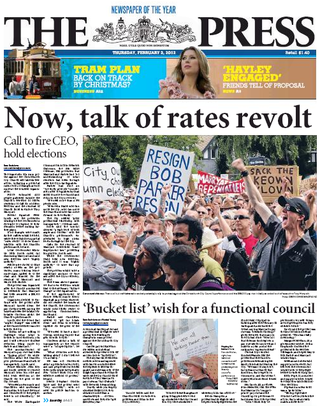 The press christchurch NZ Politics Daily - Bryce Edwards Otago University liberation blog - www.liberation.org.nz