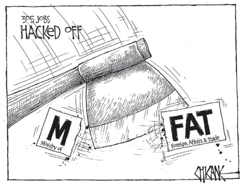 6 MFAT foreign affairs trade NZ Politics Daily - Bryce Edwards Otago University liberation blog - www.liberation.org.nz