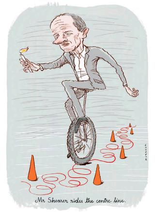 3 David Shearer Labour Party  NZ Politics Daily - Bryce Edwards Otago University liberation blog - www.liberation.org.nz