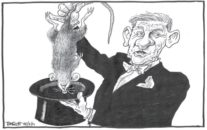8 budget dead rat bill english NZ Politics Daily - Bryce Edwards Otago University liberation blog - www.liberation.org.nz