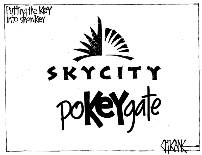 1 pokeygate skycity NZ Politics Daily - Bryce Edwards Otago University liberation blog - www.liberation.org.nz
