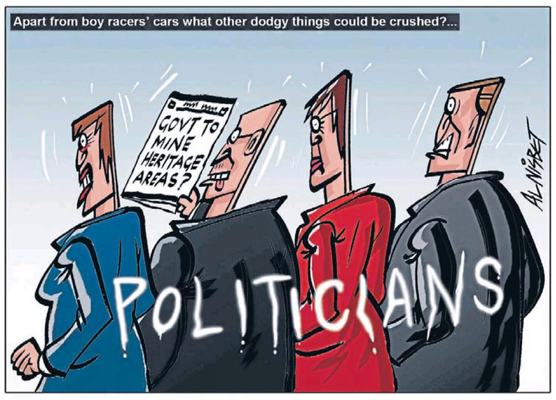 A crush politicians NZ Politics Daily - Bryce Edwards Otago University liberation blog - www.liberation.org.nz