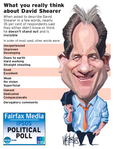 9 David Shearer poll labour fairfax NZ Politics Daily - Bryce Edwards Otago University liberation blog - www.liberation.org.nz