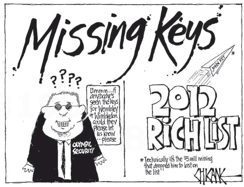 3 2012 nbr rich list john key NZ Politics Daily - Bryce Edwards Otago University liberation blog - www.liberation.org.nz