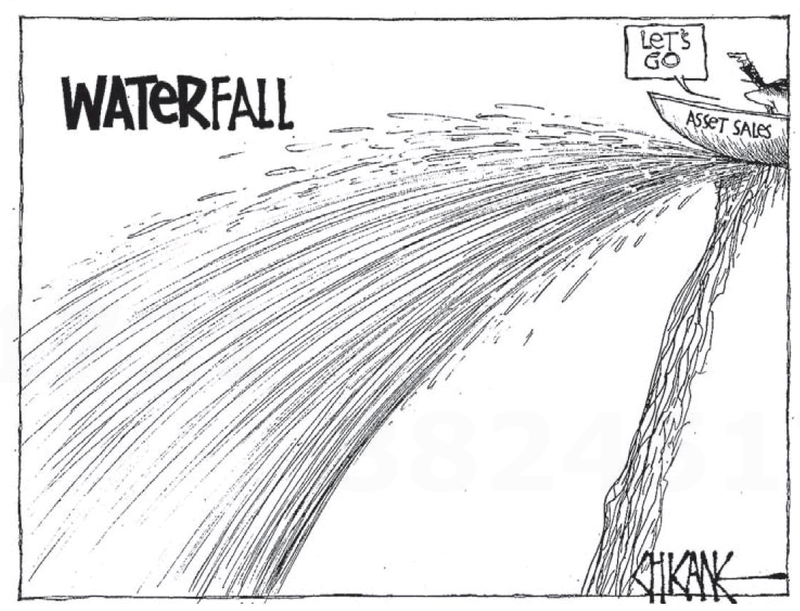 2 water asset sales iwi maori NZ Politics Daily - Bryce Edwards Otago University liberation blog - www.liberation.org.nz