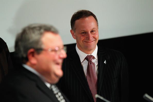 Gerry Brownlee John Key NZ Politics Daily - Bryce Edwards Otago University liberation blog - www.liberation.org.nz