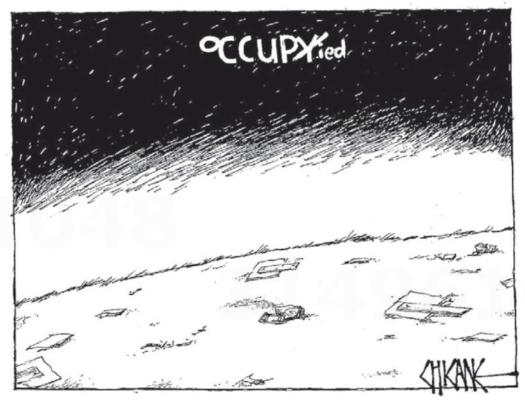 1 occupy occupation NZ Politics Daily - Bryce Edwards Otago University liberation blog - www.liberation.org.nz