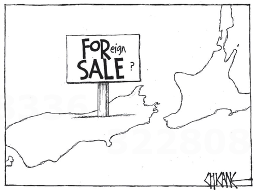 4 foreign sale land NZ Politics Daily - Bryce Edwards Otago University liberation blog - www.liberation.org.nz