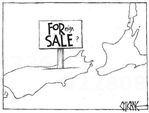 4 foreign sale land NZ Politics Daily - Bryce Edwards Otago University liberation blog - www.liberation.org.nz