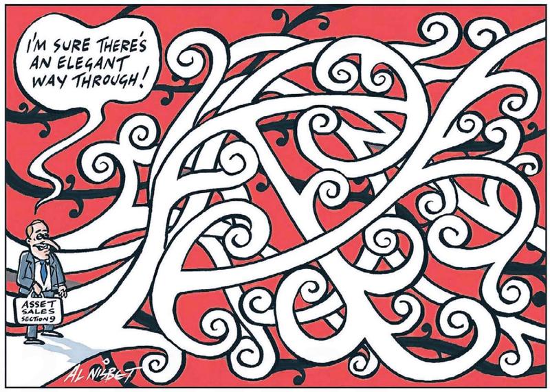 7 John Key Maori SOEs section 9 NZ Politics Daily - Bryce Edwards Otago University liberation blog - www.liberation.org.nz