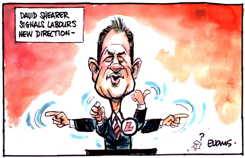 David shearer labour direction NZ Politics Daily - Bryce Edwards Otago University liberation blog - www.liberation.org.nz