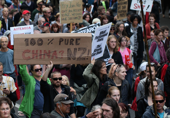 3 asset sales xenophobia hikoi  NZ Politics Daily - Bryce Edwards Otago University liberation blog - www.liberation.org.nz