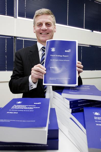 7 Budget Bill English 2012 NZ Politics Daily - Bryce Edwards Otago University liberation blog - www.liberation.org.nz