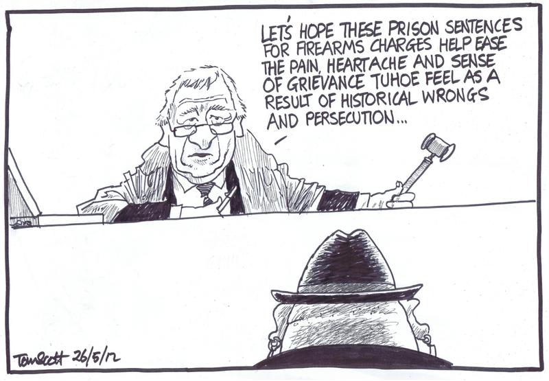 1 trial ureweras tame iti NZ Politics Daily - Bryce Edwards Otago University liberation blog - www.liberation.org.nz