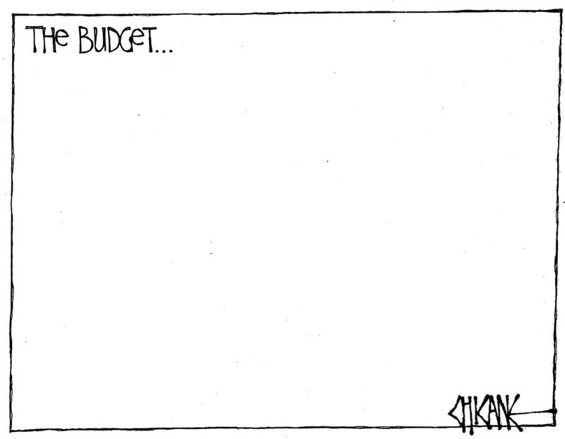 1 Budget empty NZ Politics Daily - Bryce Edwards Otago University liberation blog - www.liberation.org.nz
