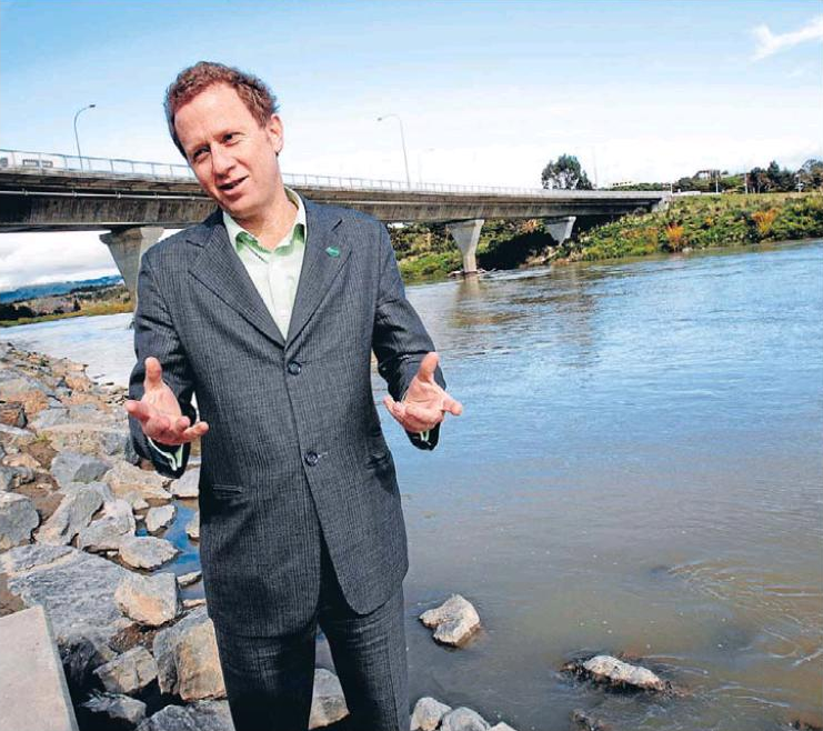 2 water greens campaign NZ politics greens Bryce Edwards liberation blog – www.liberation.org.nz