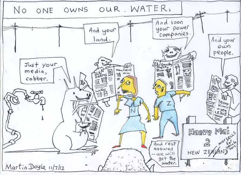 1 water maori council NZ Politics Daily - Bryce Edwards Otago University liberation blog - www.liberation.org.nz