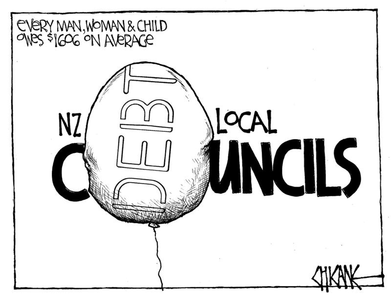 1 Local govt reform debt NZ Politics Daily - Bryce Edwards Otago University liberation blog - www.liberation.org.nz