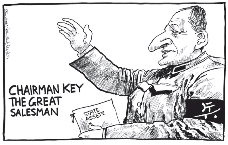 7 asset sales john key NZ Politics Daily - Bryce Edwards Otago University liberation blog - www.liberation.org.nz
