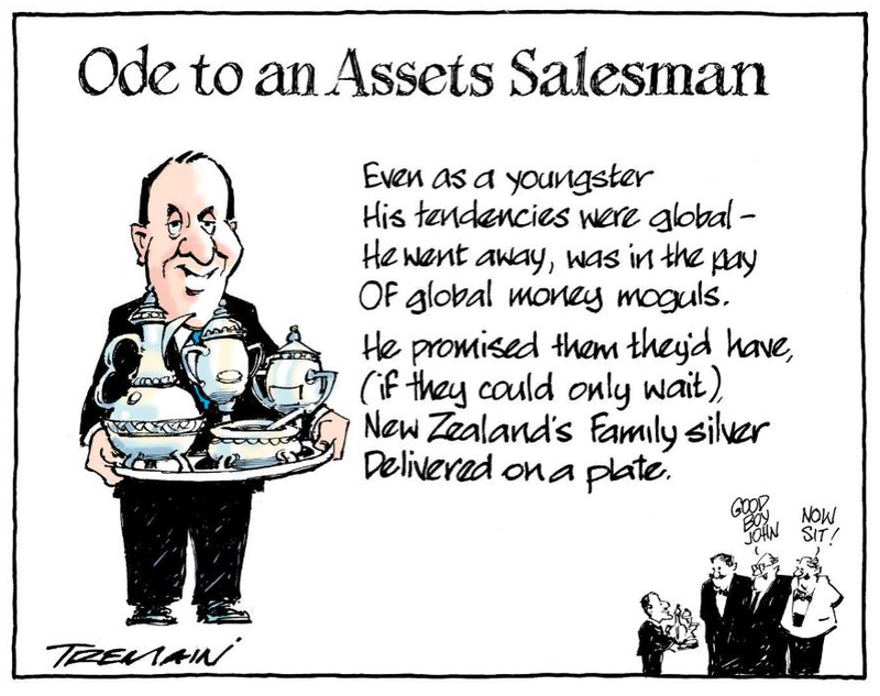 A Asset sales john key national NZ Politics Daily - Bryce Edwards Otago University liberation blog - www.liberation.org.nz