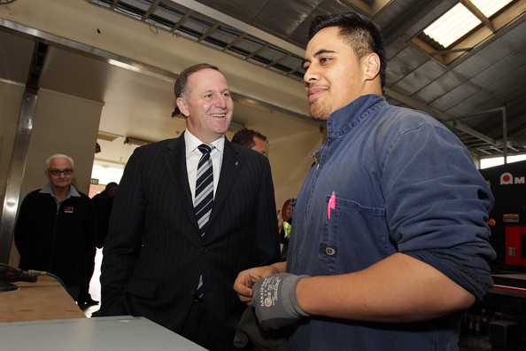 1 John Key worker factory NZ Politics Daily - Bryce Edwards Otago University liberation blog - www.liberation.org.nz