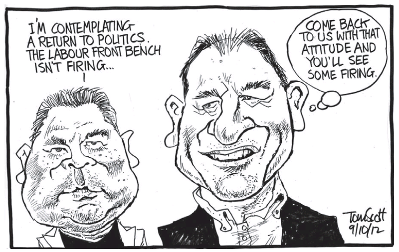 Z John Tamihere David Shearer NZ Politics Daily - Bryce Edwards Otago University liberation blog - www.liberation.org.nz