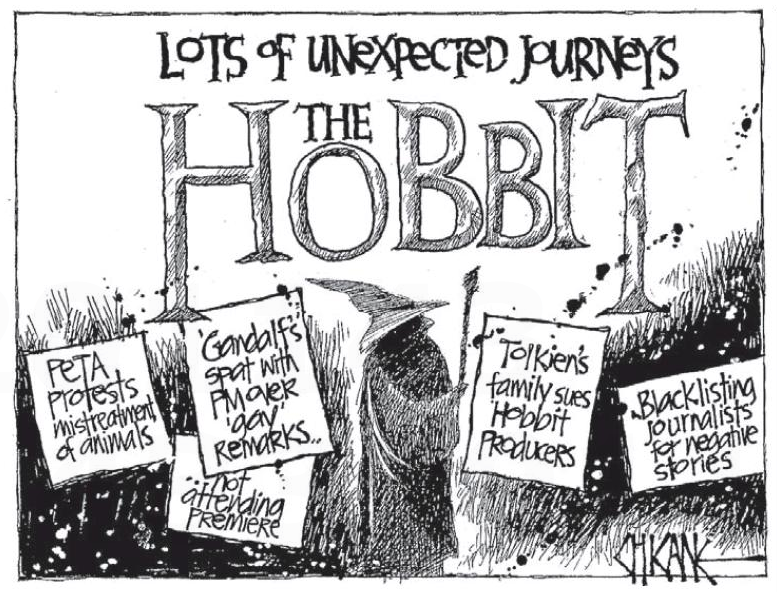 3.5 The Hobbit Peter Jackson NZ Politics Daily - Bryce Edwards Otago University liberation blog - www.liberation.org.nz