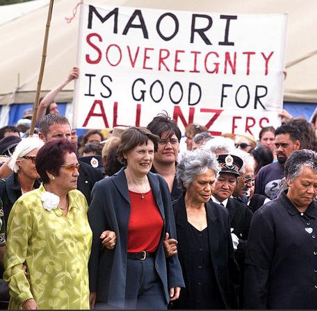 4 Titewhai Harawira Waitangi Day - Bryce Edwards NZ Politics