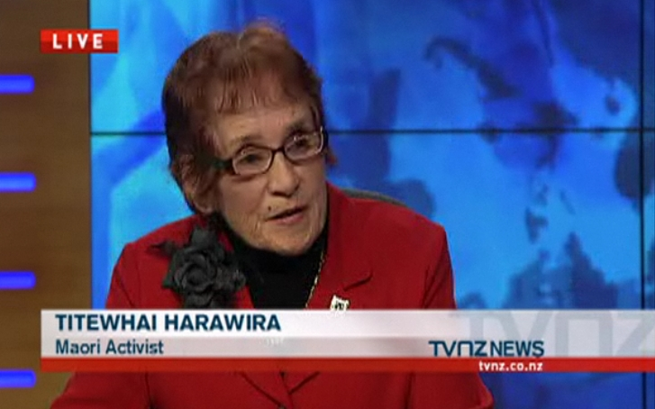 13 Titewhai Harawira Waitangi Day - Bryce Edwards NZ Politics