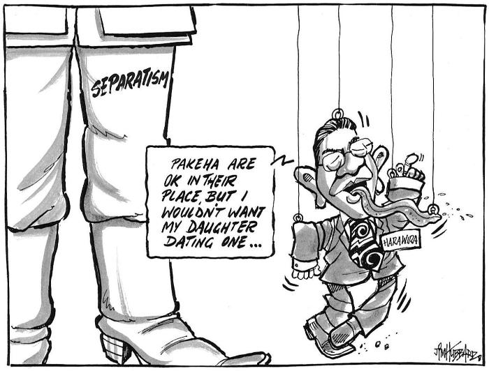 33 Titewhai Harawira Waitangi Day - Bryce Edwards NZ Politics