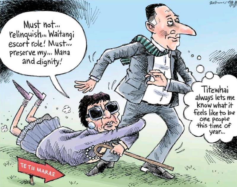 37 Nelson Mail 5 February 2013  Titewhai Harawira Waitangi Day - Bryce Edwards NZ Politics